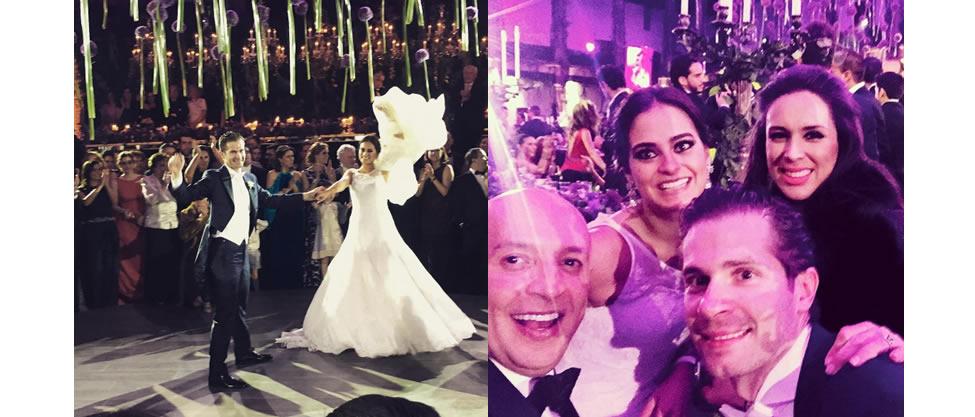 Boda de Santigo Creel Garza y Eugenia Guajardo