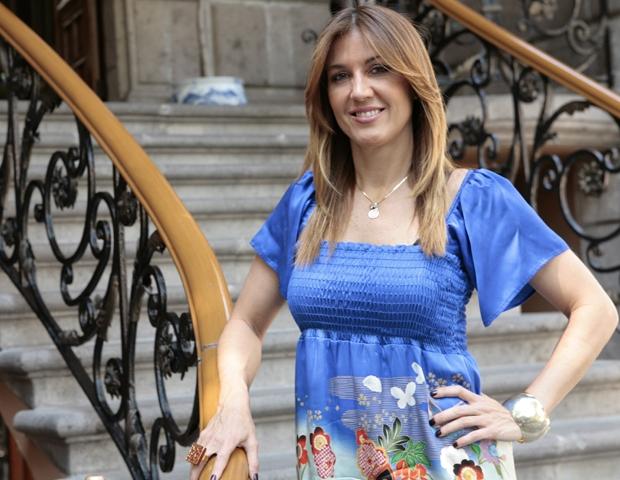 La novia de Javier Lozano y su mundo de alta costura