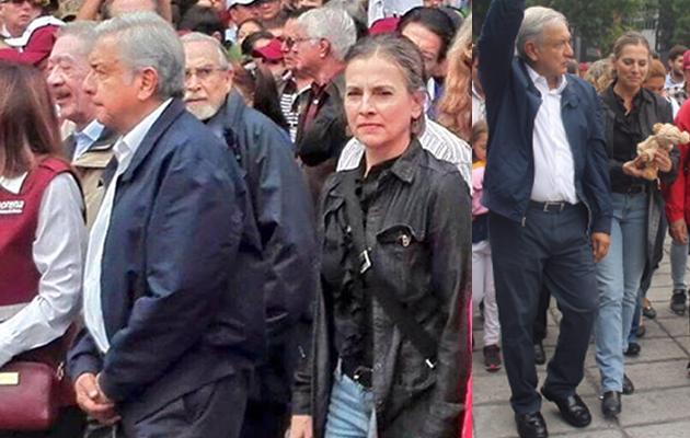 Quien marcho junto a Andres Manuel Lopez Obrador