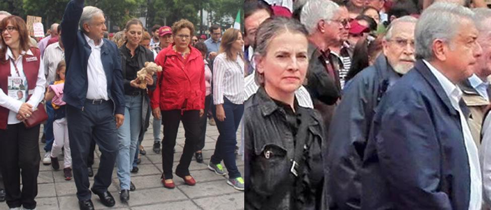 Quién es la mujer de Andrés Manuel López Obrador