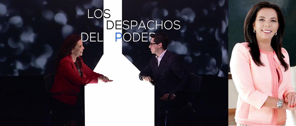 Carolina Monroy le hace ojitos a la gubernatura del Estado de México
