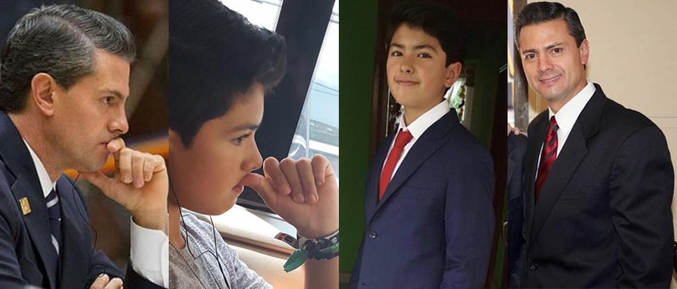 El hijo de Peña Nieto y Maritza Díaz cumple 12 años