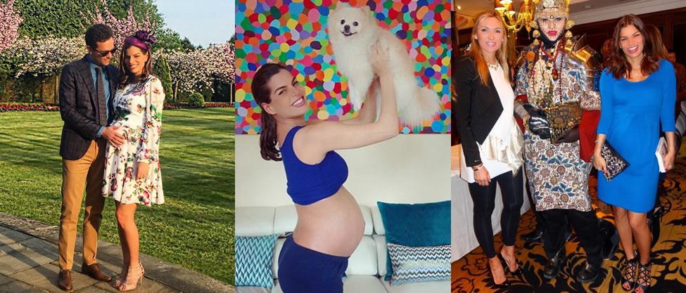 Bárbara Coppel muestra cómo lucir perfecta en el embarazo