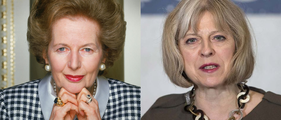 12 datos para comparar a Margaret Thatcher y Theresa May