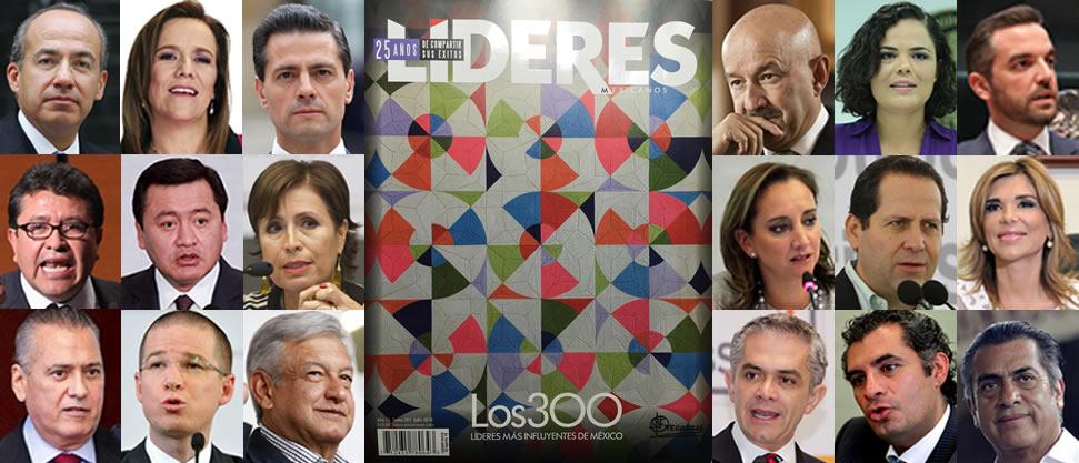Los políticos que son parte de Los 300 Líderes más Influyentes de México