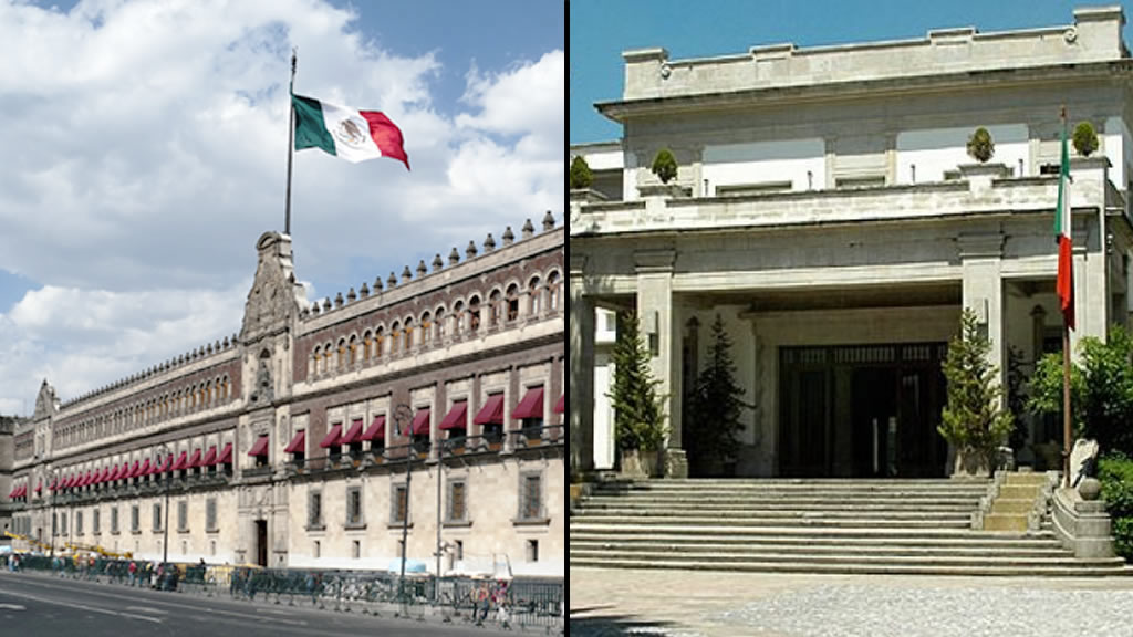 ¿Cuánto cuestan el Palacio Nacional y Los Pinos?