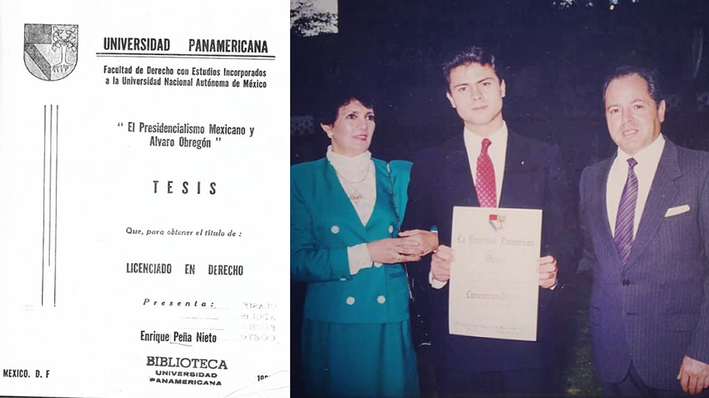 Ya sabemos a quién le dedicó su tesis Peña Nieto