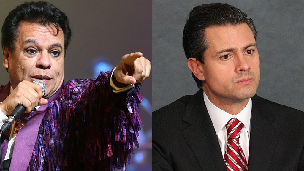 Carta de Juan Gabriel a Peña Nieto