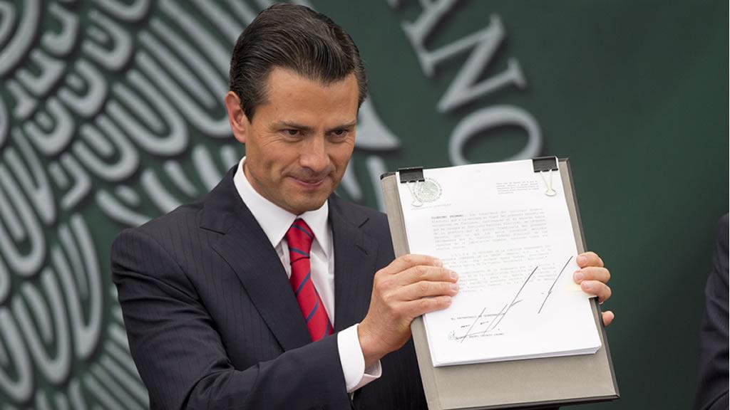 La grafología de Enrique Peña Nieto
