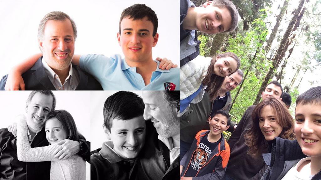 Los hijos de José Antonio Meade