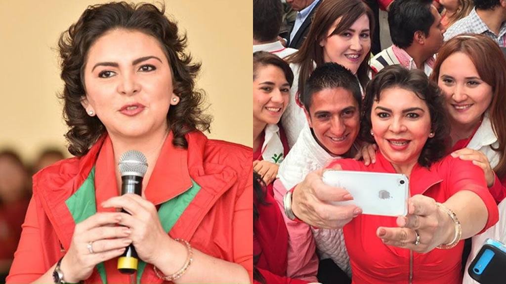 La selfies de Ivonne Ortega