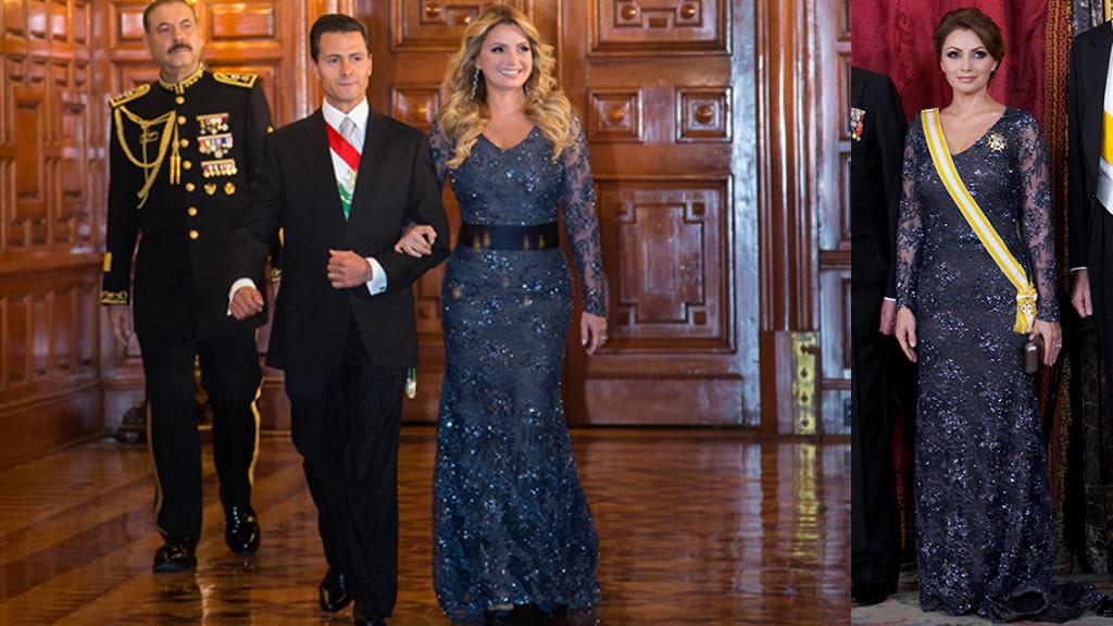 [CONFIRMADO] Angélica Rivera repitió vestido