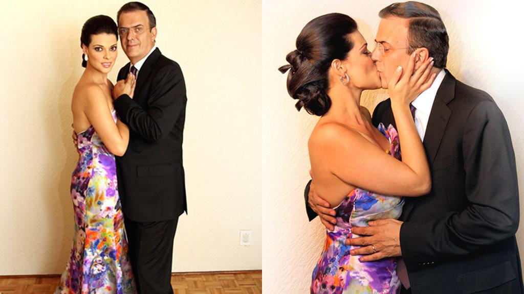 5to Aniversario de bodas de Marcelo Ebrard y Rosalinda Bueso