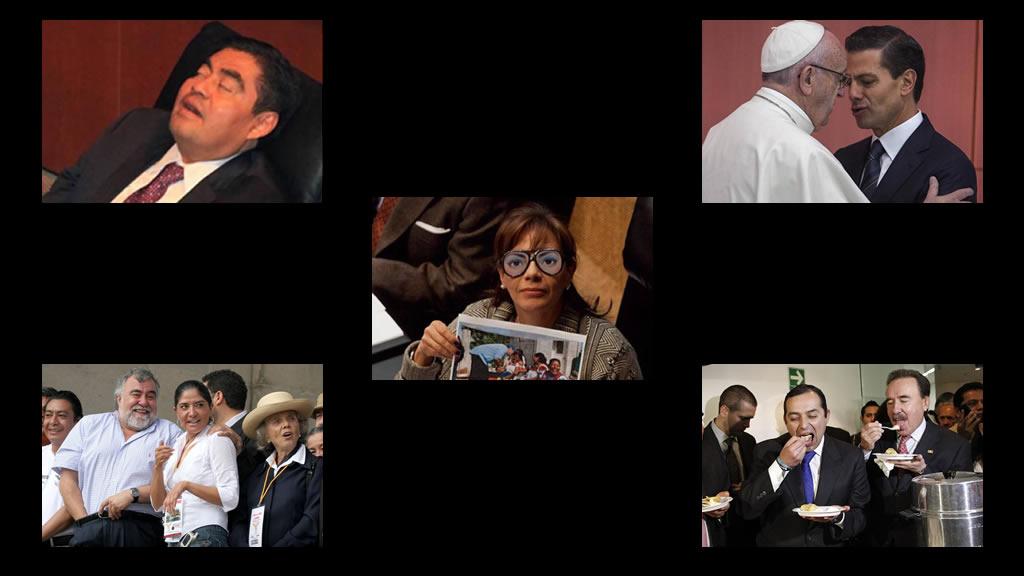Fotos atípicas de los políticos