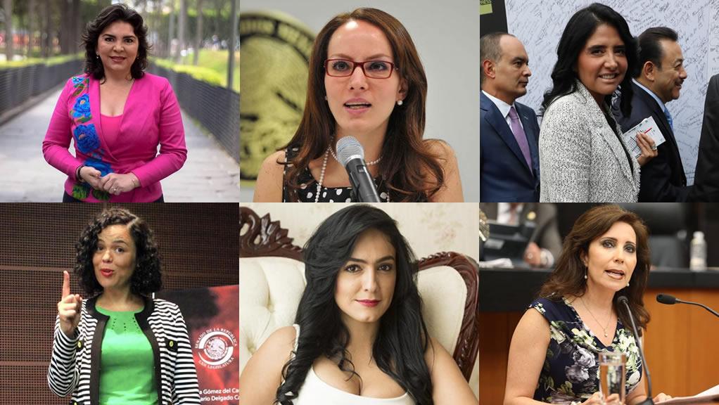 Las solteras de la política 2016