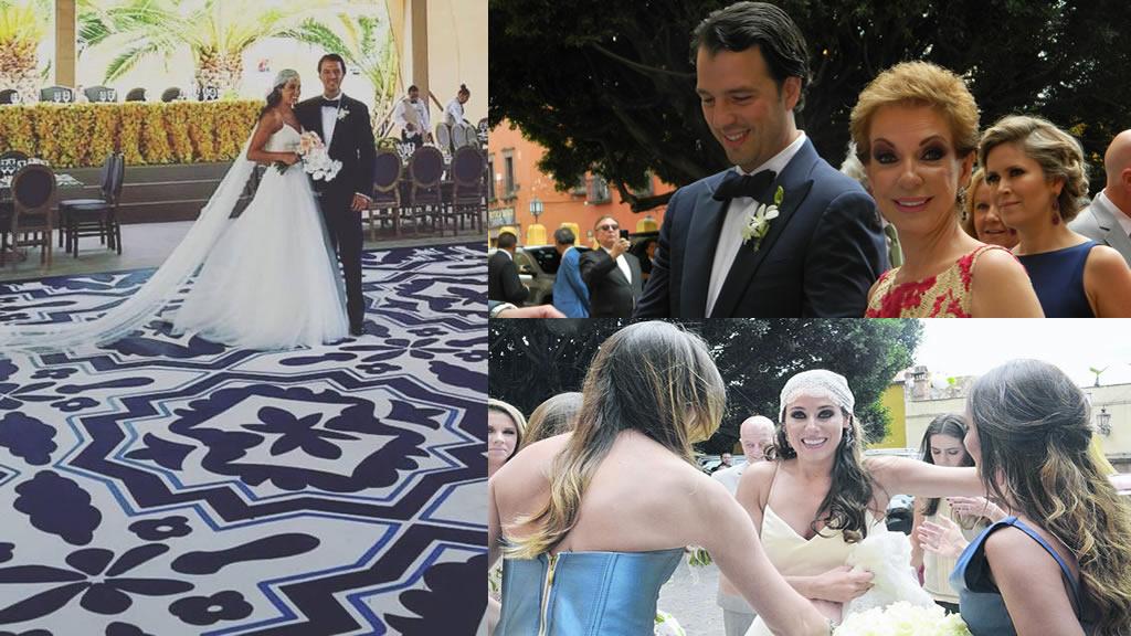 Los detalles de la boda de Fernando Bribiesca y Ana Lucía Velázquez