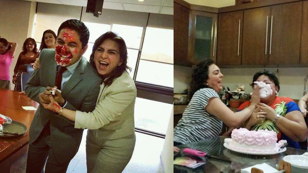 Los pastelazos de Ivonne Ortega