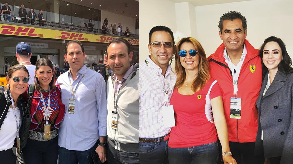 Qué políticos asistieron al Gran Premio de México 2016
