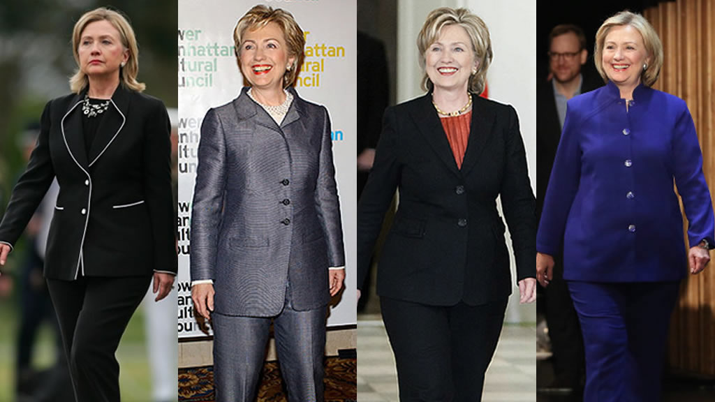 Hillary Clinton, una candidata a la traje sastre