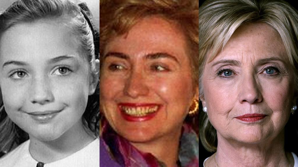 La metamorfosis de Hillary Clinton