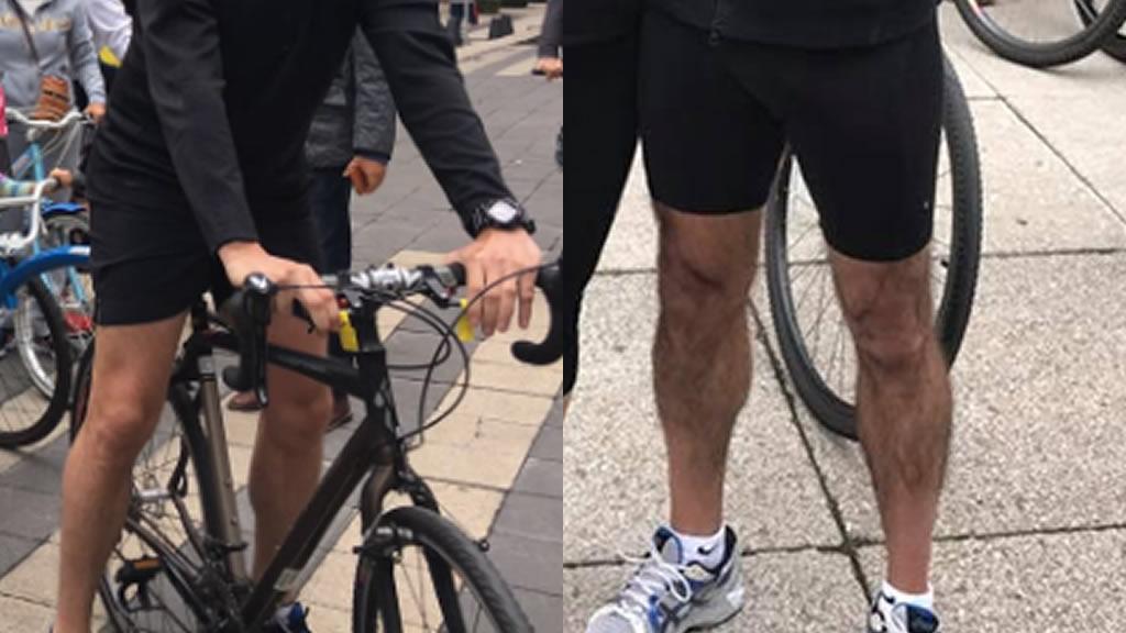 Las mejores piernas de la Rodada Contra La Obesidad