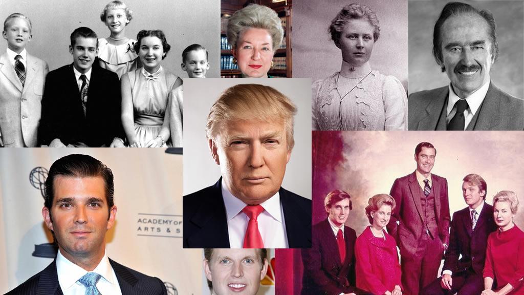 El árbol genealógico de Donald Trump