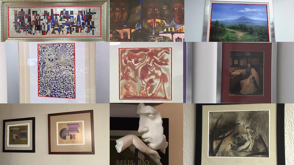 Las obras de arte que tienen los políticos en sus despachos