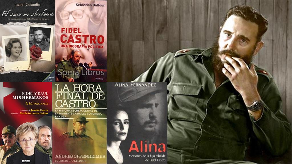 10 libros sobre Fidel Castro