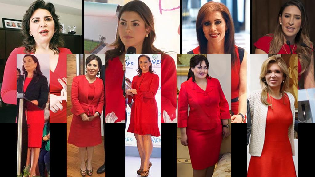 Las rojo PRI