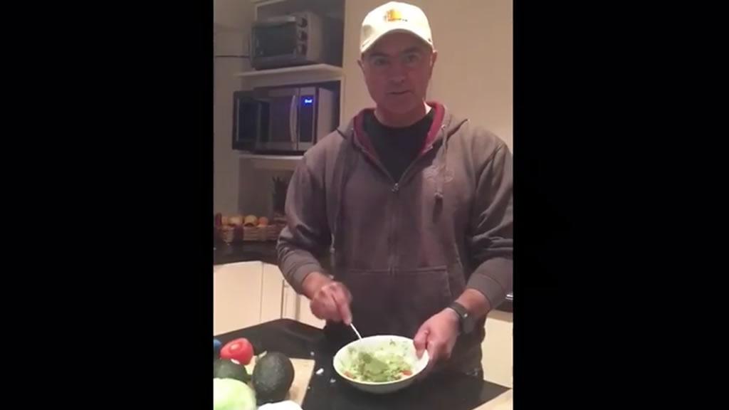 El reto guacamole de José Calzada Rovirosa