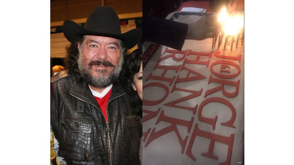 Imágenes del cumpleaños 61 de Jorge Hank Rhon