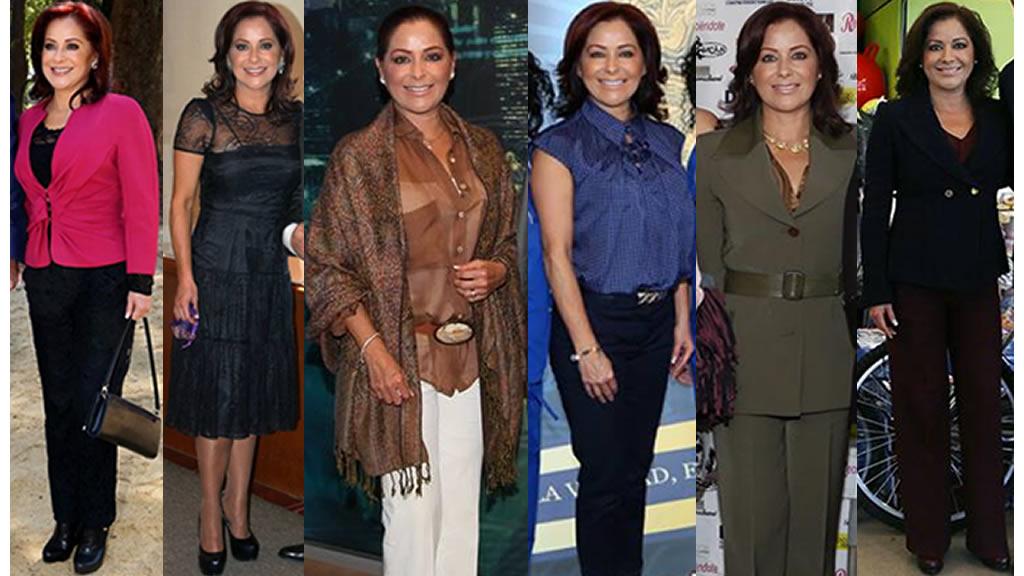 Los outfits de la esposa de Tony Gali