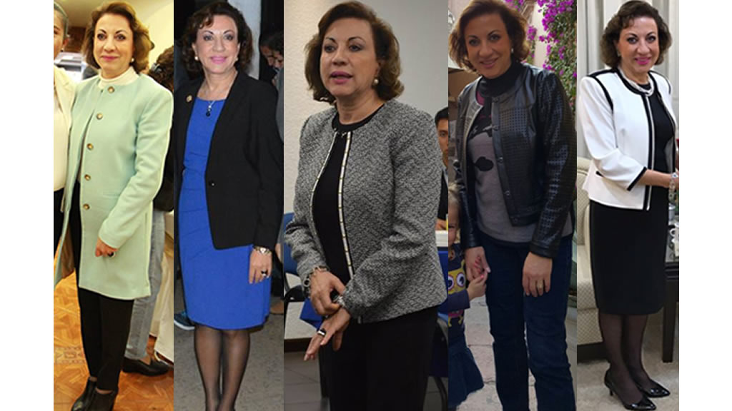 El armario de María Guadalupe Murguía Gutiérrez