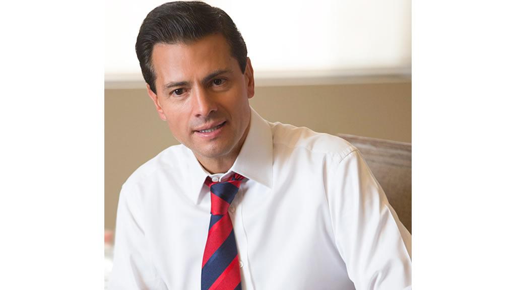 Las canas del presidente Peña Nieto