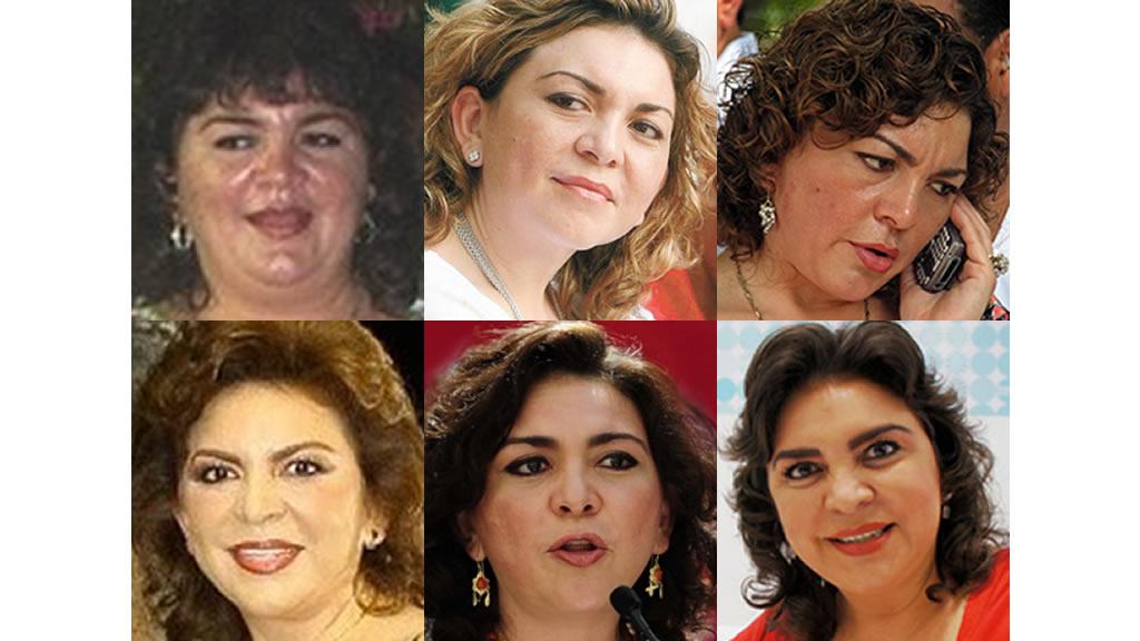 El rostro de Ivonne Ortega Pacheco en el tiempo