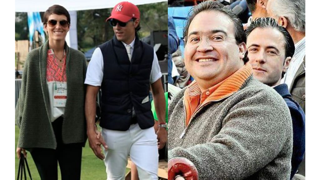 El testaferro de Javier Duarte, Moisés Mansur, tuvo un hijo con Ana Gaby Peralta
