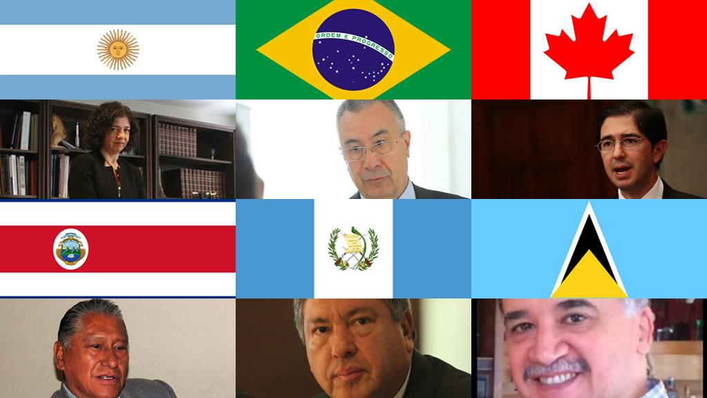 Quiénes son los 6 embajadores de América que ratificó el Senado