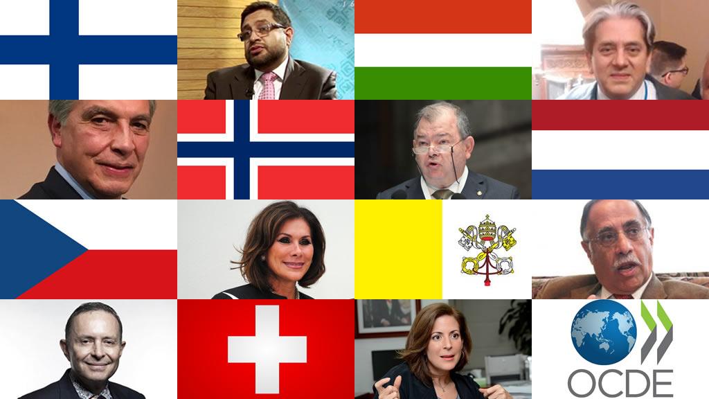 Quiénes son los 8 embajadores de Europa que ratificó el Senado