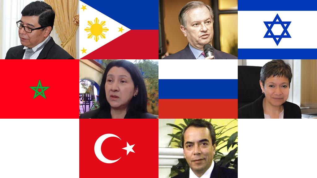 Quiénes son los 5 embajadores de Asia y África que ratificó el Senado