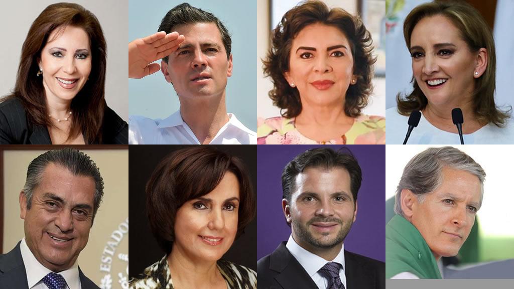 Políticos mexicanos que tienen la misma edad