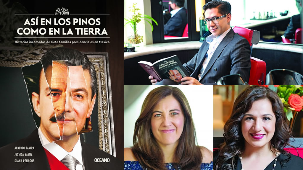 La historia detrás de la portada del libro Así en Los Pinos como en la Tierra