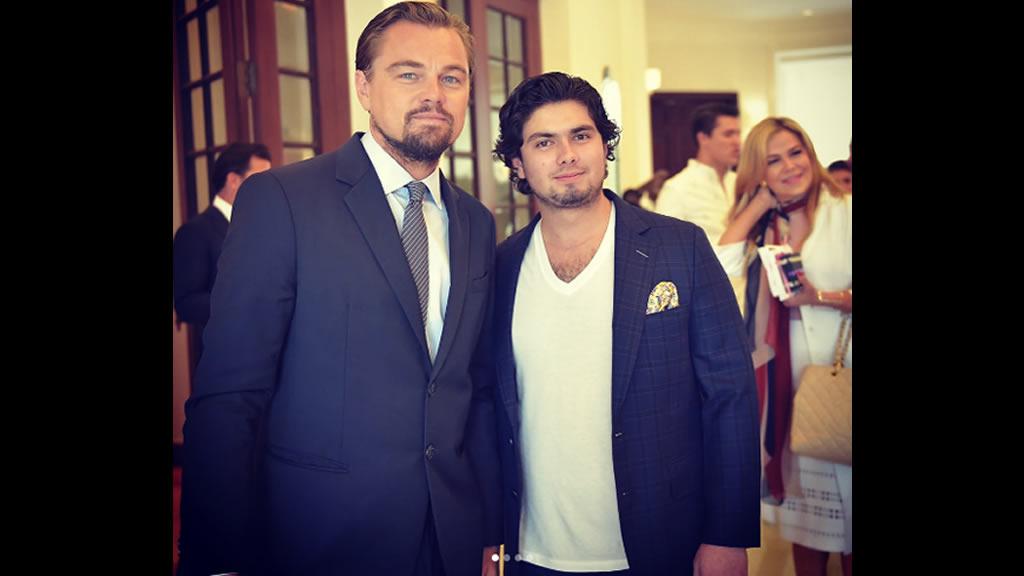 Los Pinos Teens conocen a Leonardo Di Caprio [FOTOS]