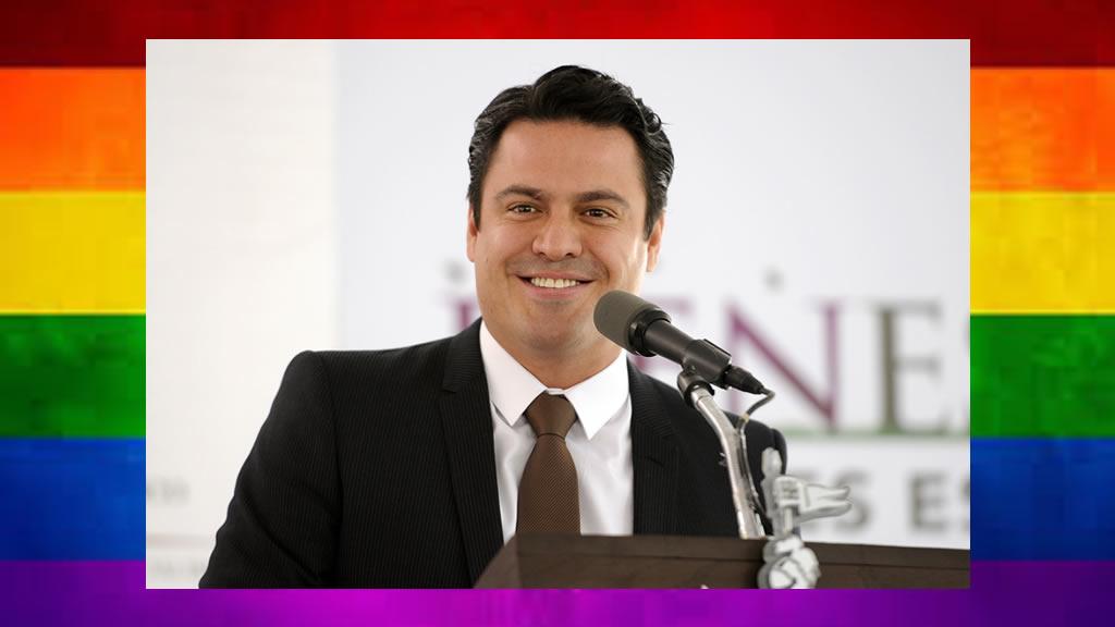 Aristóteles Sandoval marchó junto a la comunidad LGBTTTI