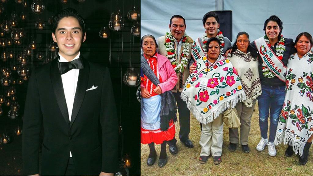 La graduación de Santiago Miranda, hijo del secretario de Desarrollo Social