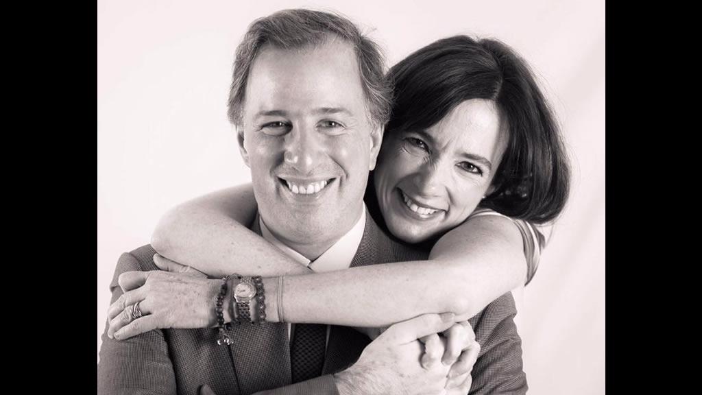 José Antonio Meade y Juana Cuevas cumplen 23 años de casados