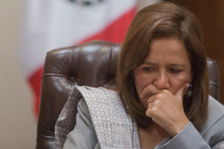 Muere papá de Margarita Zavala