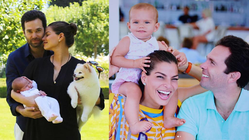 El primer año de Amaia, hija de Bárbara Coppel y Alejandro Hank