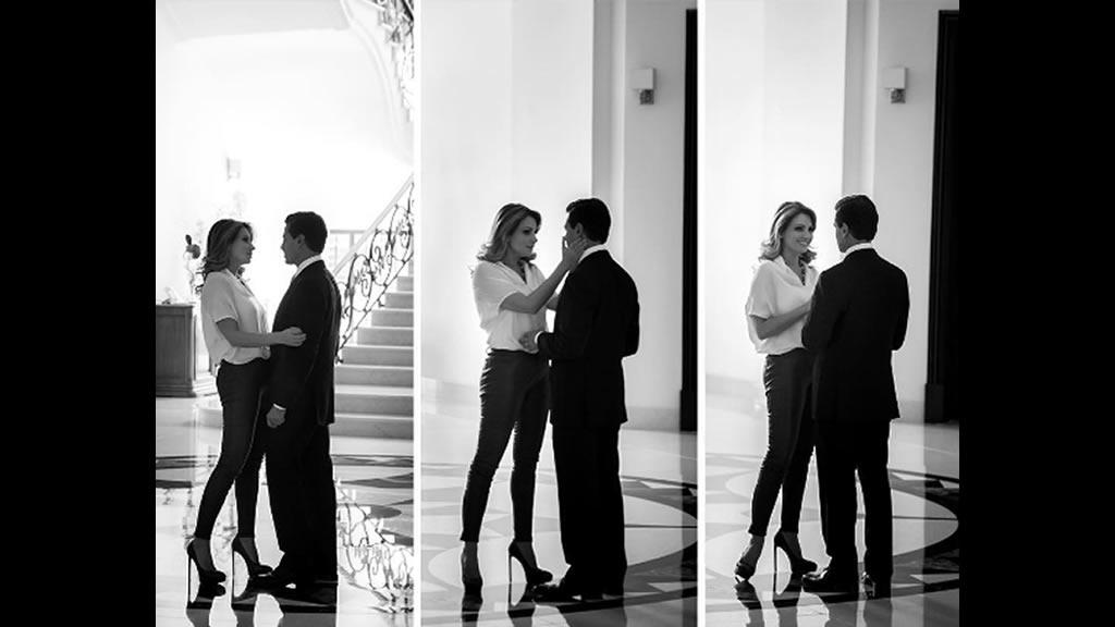 Enrique Peña Nieto felicita a Angélica Rivera por sus 48 años
