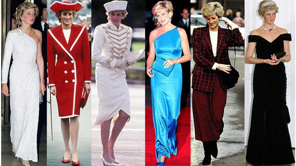 La moda de la princesa Diana en fotos