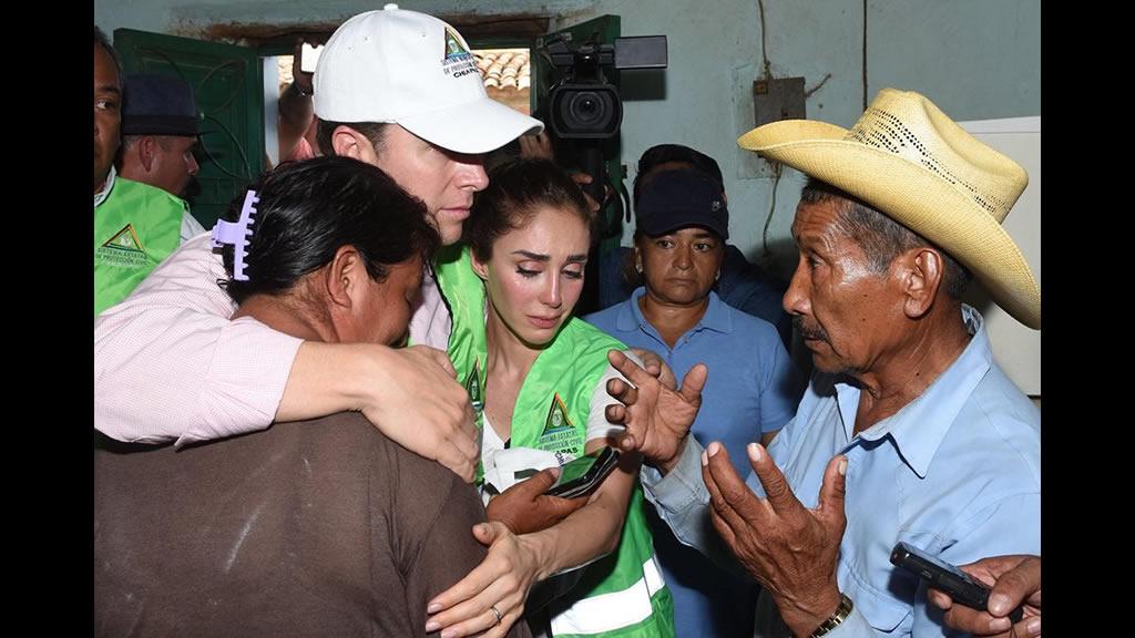 Despeinada es como Anahí pide ayuda para los afectados por el terremoto